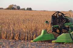Combine harvester Royalty Free Stock Photos