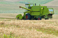 Combine harvester Stock Photos