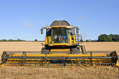 The Combine Harvester Royalty Free Stock Image
