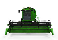 Combine Harvester Isolated Royalty Free Stock Photo