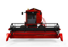 Combine Harvester Isolated Stock Photography