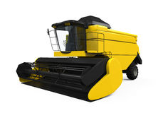 Combine Harvester Isolated Stock Photo