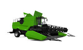 Combine Harvester Isolated Stock Photos