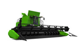 Combine Harvester Isolated Royalty Free Stock Images