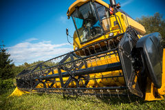 Combine harvester Stock Photos