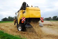 Combine Harvesters detailed technology Stock Photography