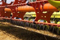 Combine harvesters Royalty Free Stock Images