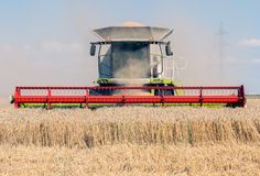 Combine harvesters Royalty Free Stock Photo