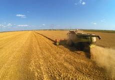 Combine harvesters Stock Images
