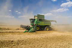 Combine John Deere Royalty Free Stock Photos