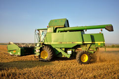 Combine ready for harvest Stock Photography