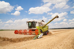 Combine working Stock Image