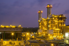 Combined cycle power plant Royalty Free Stock Photos