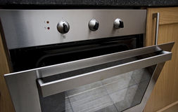 Combined electric oven Stock Photos