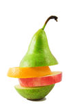 Combined fruit Royalty Free Stock Images