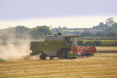 Combined harvester Royalty Free Stock Photos