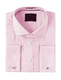 The combined pink shirt on a white background Royalty Free Stock Photo