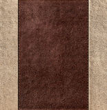 Combined stitched leather background Royalty Free Stock Images