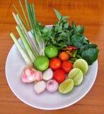 Combineer soep Stock Foto