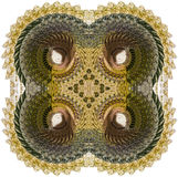 Combining spheres abstract - square shape Royalty Free Stock Photos