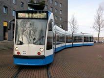 Combino tramwaj w Amsterdam obraz royalty free