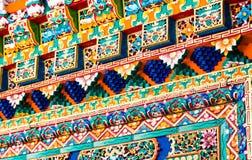 Comble coloré Photo stock