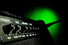 Combo amplifier closeup Stock Photography
