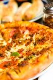Combo pizza Stock Image