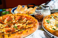 Combo pizza Royalty Free Stock Photos