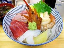 Combo risbunke för sushi. Arkivbild