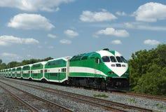 Comboio da periferia Fotos de Stock Royalty Free