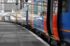 Comboio da periferia Fotos de Stock