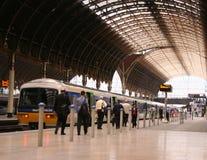 Comboio da periferia Imagem de Stock Royalty Free