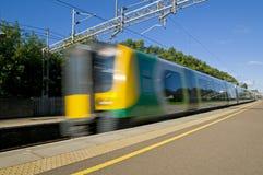 Comboio da periferia britânico fotos de stock royalty free