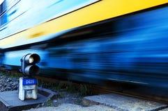 Comboio de mercadorias Foto de Stock