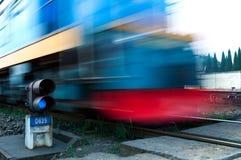 Comboio de mercadorias fotos de stock