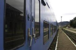 Comboio de passageiros imagem de stock royalty free
