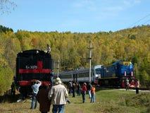 Comboio de passageiros imagens de stock royalty free