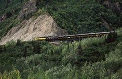 Comboio de passageiros fotografia de stock