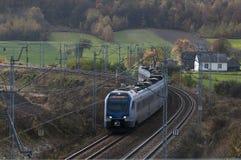 Comboio de passageiros Foto de Stock Royalty Free