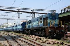 Comboio de passageiros Imagem de Stock