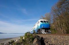 Comboio de passageiros de alta velocidade. imagem de stock