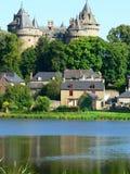 combourg Франция замка Стоковая Фотография RF