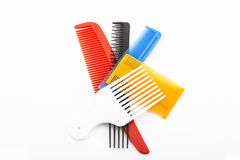 Combs colored Stock Image