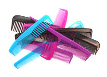 Combs. On a white background Stock Photography