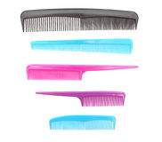 Combs. On a white background Stock Photo