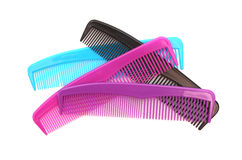 Combs. On a white background Stock Image