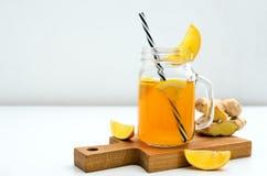 Combucha detox drink stock images