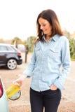 Combustível de óleo vegetal Foto de Stock Royalty Free