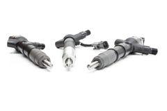 combustível diesel dos injetores Imagens de Stock Royalty Free